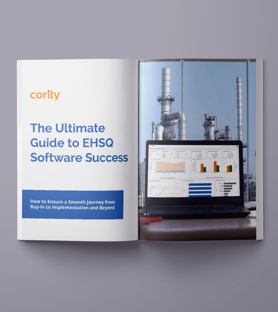 book cover of the ultimate guide to ehsq software success