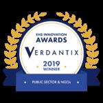 Verdantix EHS Innovation Awards 2019 – Winner_Public Sector & NGOs