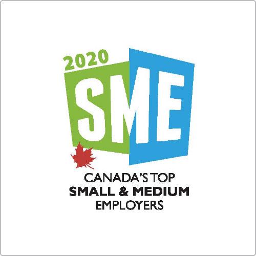2020 SME Canada's top small & medium employers award